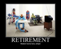 Poster - RETIREMENT by E-n-S