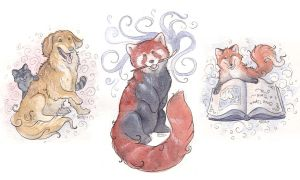 Little Animals by Kitsune-Seven