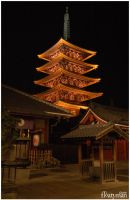 Lights of Asakusa 2 by Floatyman