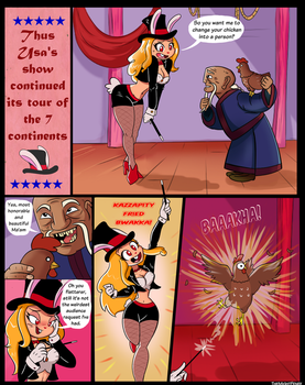 Usa's Tour - 'step on up, don't chicken out' p.1 by TheMightFenek