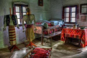 Old House, three by mariustipa