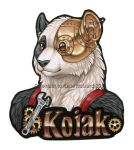 Kojak Bust Badge by Shadow-Wolf