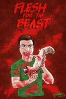FLESH FOR THE BEAST - iPhone by saTHOMASo
