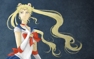Sailor Moon by Lucy-Redgrave
