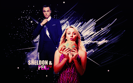 Sheldon and Penny by midnightgirl