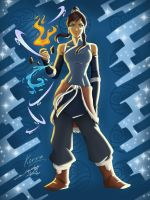 The Legend Of Korra Color by ajithm