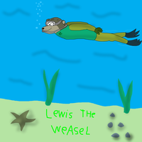 Lewis the Weasel for kodyboy555 by valentinfrench
