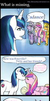 What is missing -Comic- by KitsuneHino