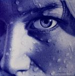 Inside - Ballpoint pen drawing by LopezLorenzana