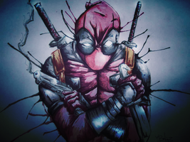 Deadpool by thebigbosslh