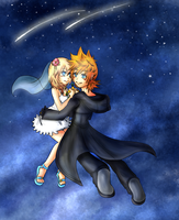 RokuNami:Starry Night by Kiome-Yasha