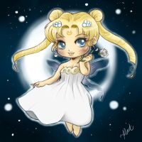 Chibi Neo Queen Serenity by thedandmom