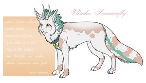 Vlinder - character sheet by CatherineSt