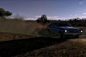A little Rally Racing with my SS Chevelle by whendt