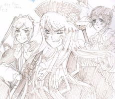 Aph Bad Touch Trio Female version by White-Bears