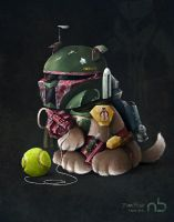 Boba Fetch by Sku11head