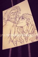 The Lovegoods Sketchcard (AVAILABLE) by jaymetwins