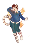 [COMM] Tiger Flash by Fablerhythm