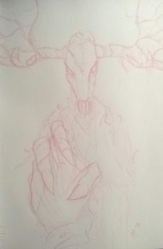 WIP -Forest Reaper- by Neonnah