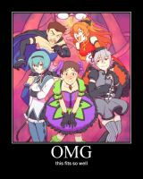evangelion poster by sky-commander