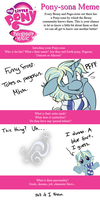 Pony-Sona Meme - Sarcasm Level Maximum by BatLover800