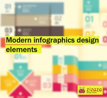 Modern infographics design elements by DarkStaLkeRR