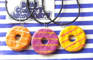Party Ring Necklace by tyney123