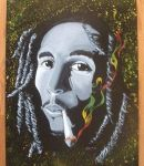 Bob Marley by SchmoGreene