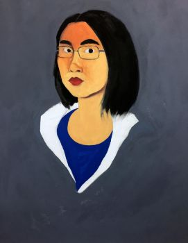 Portrait for finals by Gennethapang