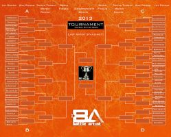 Last Artist Standing Tournament Bracket 2013 by dreno360