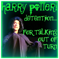 Harry Potter Detention Snape by kimsta192