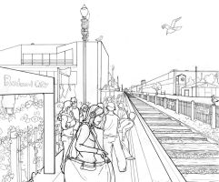 1 Pt Perspective Line Drawing by Abalone-Da-SeaSnail