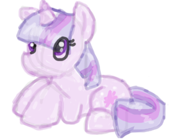 Twilightsparkle doodle by flamingkitty900