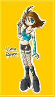 Rave Yuna by TricksyPixel