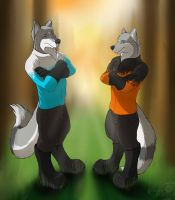 Wing Wolf - Shining 7 Son and Father (Part.I) by wingwolf88