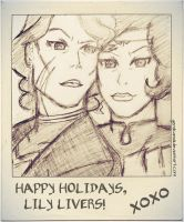 Holiday Greetings from the Beifong Sisters by GeMIkanXIII
