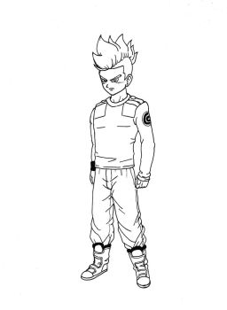 Future Trunks super ink-casual by burNiNgFro