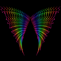 rainbow wings by nova-images