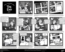 The End - 200k Mile Stone Short Comic by wolfjedisamuel