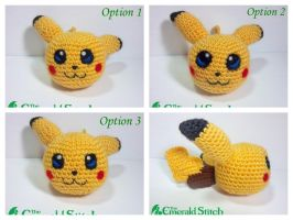 For sale! Pikachu Poke Ball by TheEmeraldStitch