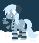 Monochromatic Derpy by Coggler