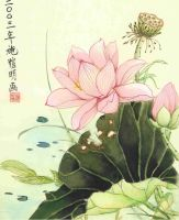 Lotus Flower by Hope-and-Fate