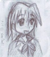 Sketch:Ayasaki Hayate by coolbell