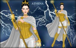 Athena of Wisdom by LadyRaw90