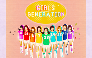 Girls' Generation Wallpaper by hearttrouble