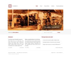 Simple, clean webdesign by bisek0