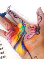 Hand doodle by artisticalshell