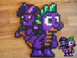 Spike's Island Spike Beads and Sprite by hfbn2