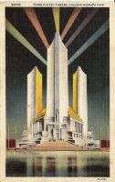 Worlds Fair Postcard by jinifur