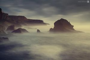misty morning by sultan-alghamdi